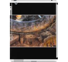 Grand Canyon Tower Wall Abstract No 3 iPad Case/Skin