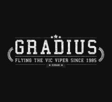 Gradius - Retro White Dirty by garudoh
