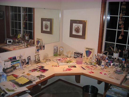 My Painting Studio by Pat Yager