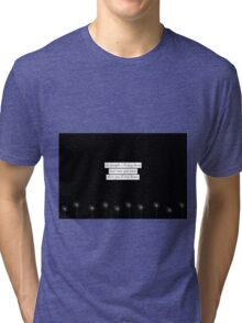 Sky night Tri-blend T-Shirt