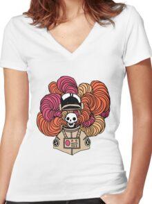 disastrosmoke Women's Fitted V-Neck T-Shirt