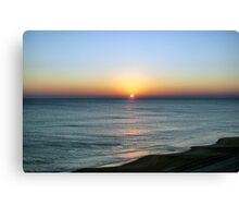 Full Sun Rising Canvas Print