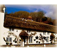Cottage in Branscombe Photographic Print