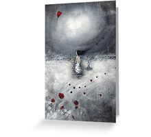 Let your heart find its way.... Greeting Card