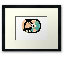 1980s abstract 01 Framed Print