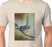 "Blue Wren  ""Perfect View""  SOLD Unisex T-Shirt"