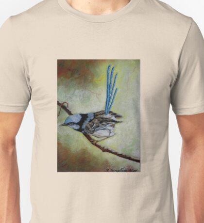 """Blue Wren  """"Perfect View""""  SOLD T-Shirt"""