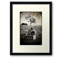 Home Comforts Framed Print