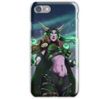 The Dreamer Awakes - Ysera, Aspect of the Green Dragonflight iPhone Case/Skin