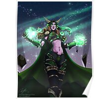 The Dreamer Awakes - Ysera, Aspect of the Green Dragonflight Poster