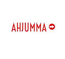 AHJUMMA - WHITE by Kpop Seoul Shop
