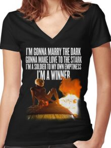 Marry The Night (Part 2) Women's Fitted V-Neck T-Shirt