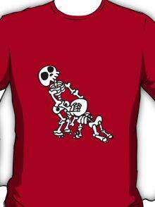 funny blowjob sex skeleton  T-Shirt