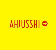 AHJUSSHI  - YELLOW by Kpop Seoul Shop