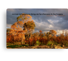 Happy Choice © Canvas Print