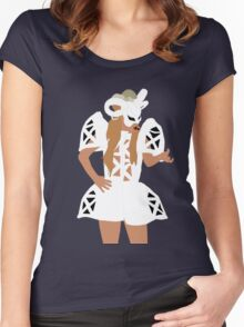 Lady Gaga Bad Romance Women's Fitted Scoop T-Shirt