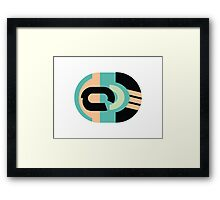 Abstract '80s 05 Framed Print