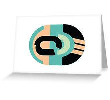 Abstract '80s 05 Greeting Card