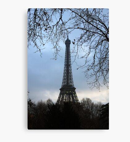 Eiffel Tower (France) Canvas Print