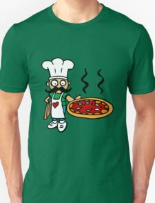 italy pizza cook Unisex T-Shirt