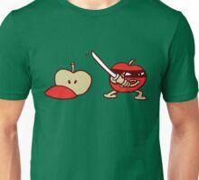 funny ninja apple  Unisex T-Shirt