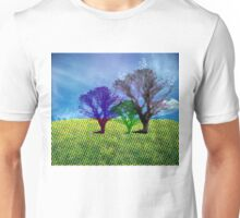 halftone tree Unisex T-Shirt