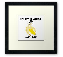 its rather appealing no? Framed Print