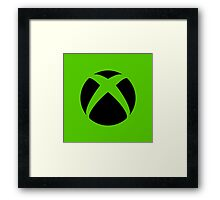 Xbox Logo Framed Print