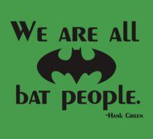 We are all bat people by MadeleineKyger
