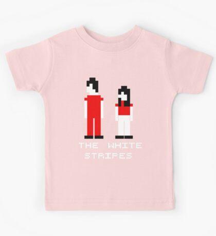 The White Stripes Pixel. Kids Tee