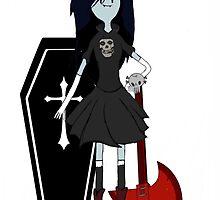 Marceline joins Fiend Club by Negus