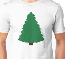 Green fir tree Unisex T-Shirt