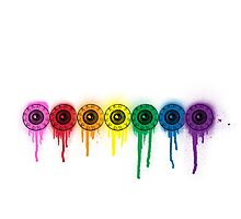 its your eyes on color! Photographic Print