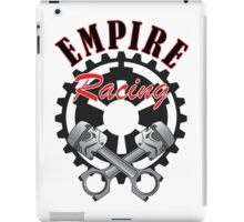 """Empire Racing"" Pistons and Gear iPad Case/Skin"