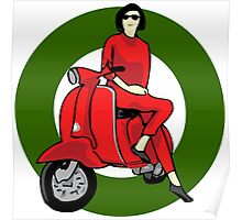 Scooter Italia Poster