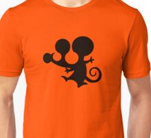 mouse stencil mickey cartoon Unisex T-Shirt