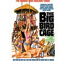 The Big Bird Cage (Blue) by PulpBoutique