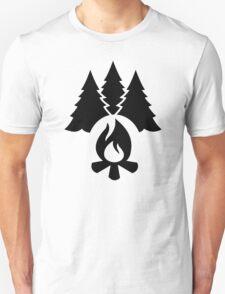 Campfire trees T-Shirt