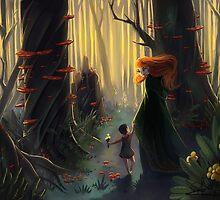 Banshee Foster Mom by SCareyArt