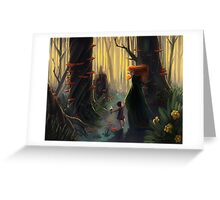 Banshee Foster Mom Greeting Card