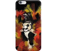 Folie á Watercolor (black) iPhone Case/Skin