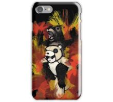 Folie á Watercolor (black) iPhone Case/Skin