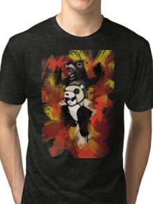 Folie á Watercolor (black) Tri-blend T-Shirt
