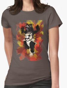 Folie á Watercolor (black) Womens Fitted T-Shirt