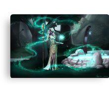 Moonglade Canvas Print