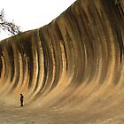Wave Rock...... by Gordon Pressley