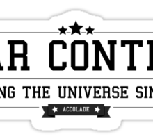 Star Control - Retro Black Clean Sticker