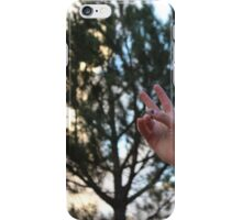 Peace Sign In the Wild iPhone Case/Skin