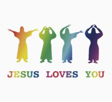 Jesus Loves You (YMCA Image & Slogan) by Darren Stein