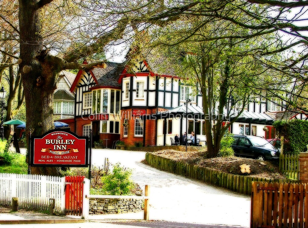 The Burley Inn - The New Forest by Colin  Williams Photography